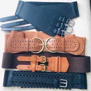 BELTAPALOOZA! 7 Fashion Belts, one low price!